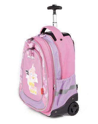 Детский рюкзак на колесах рюкзак вязанный с вышивкой