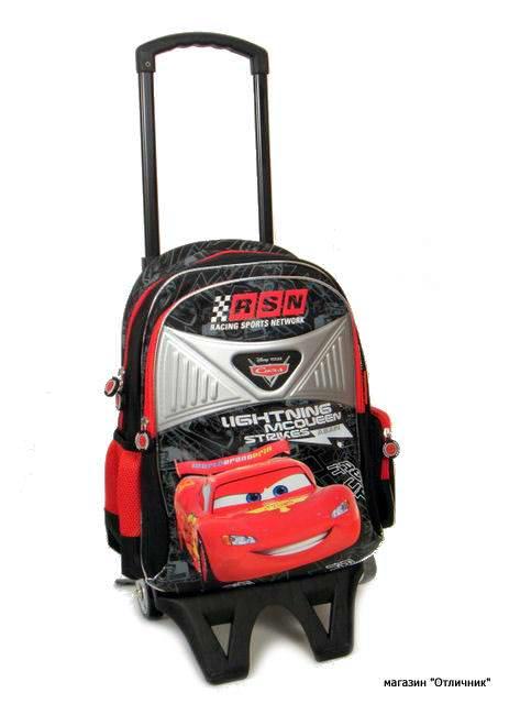 Рюкзак на колесиках детский тачки рюкзак для ноутбука porto nr06