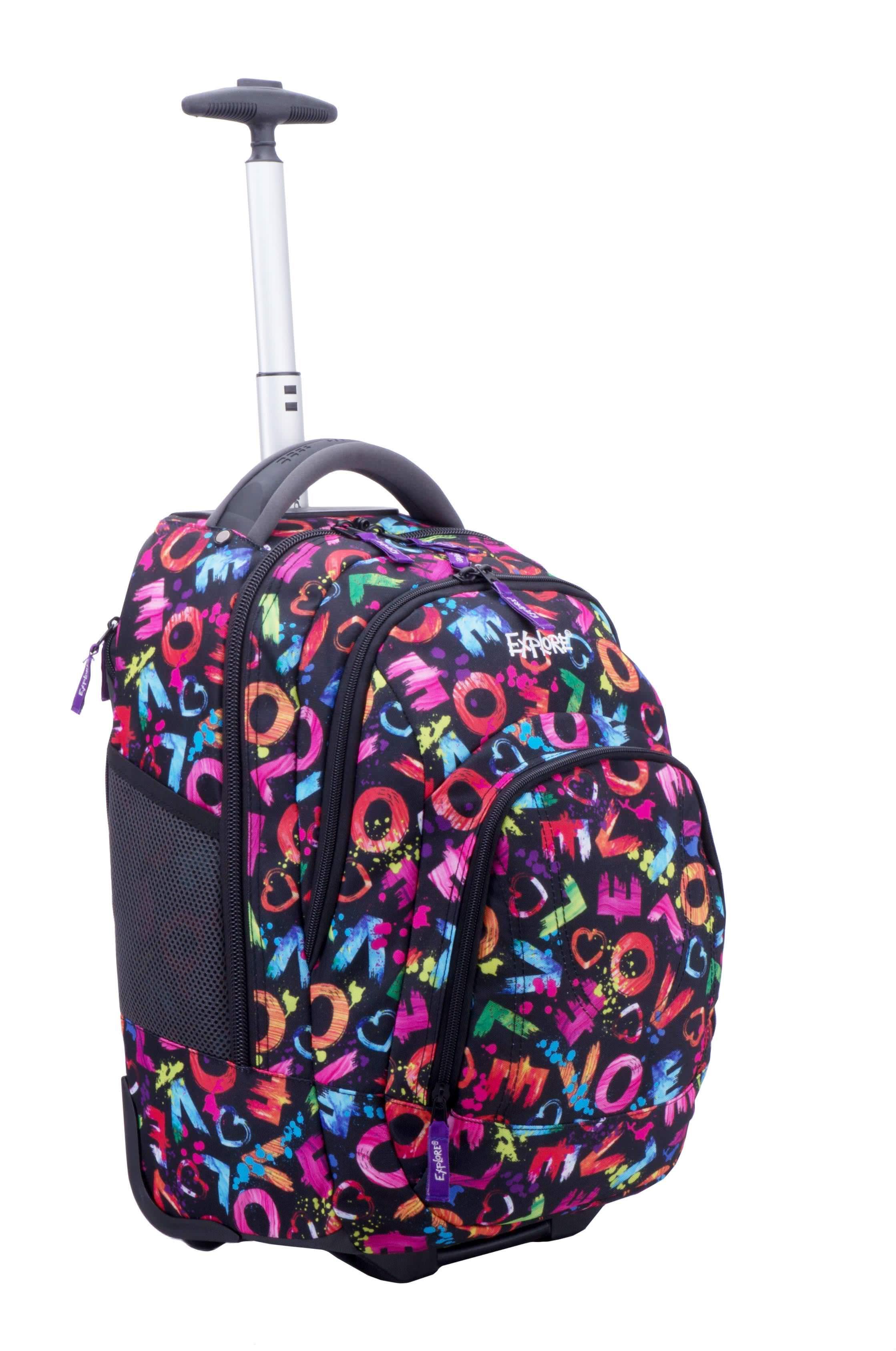 Рюкзаки на колесах школьные modan отзывы рюкзак wenger купить в спб