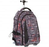 34852 рюкзак на колесах erich krause bigfoot кожаные элегантные рюкзаки для женщин